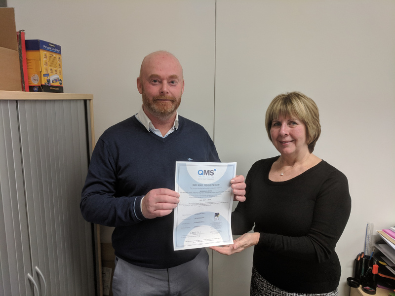 ISO 9001 Certificate Presentation