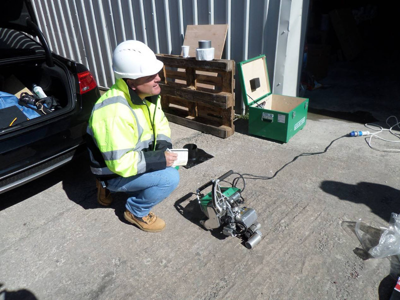 John sparks preparing for ground gas protection validation