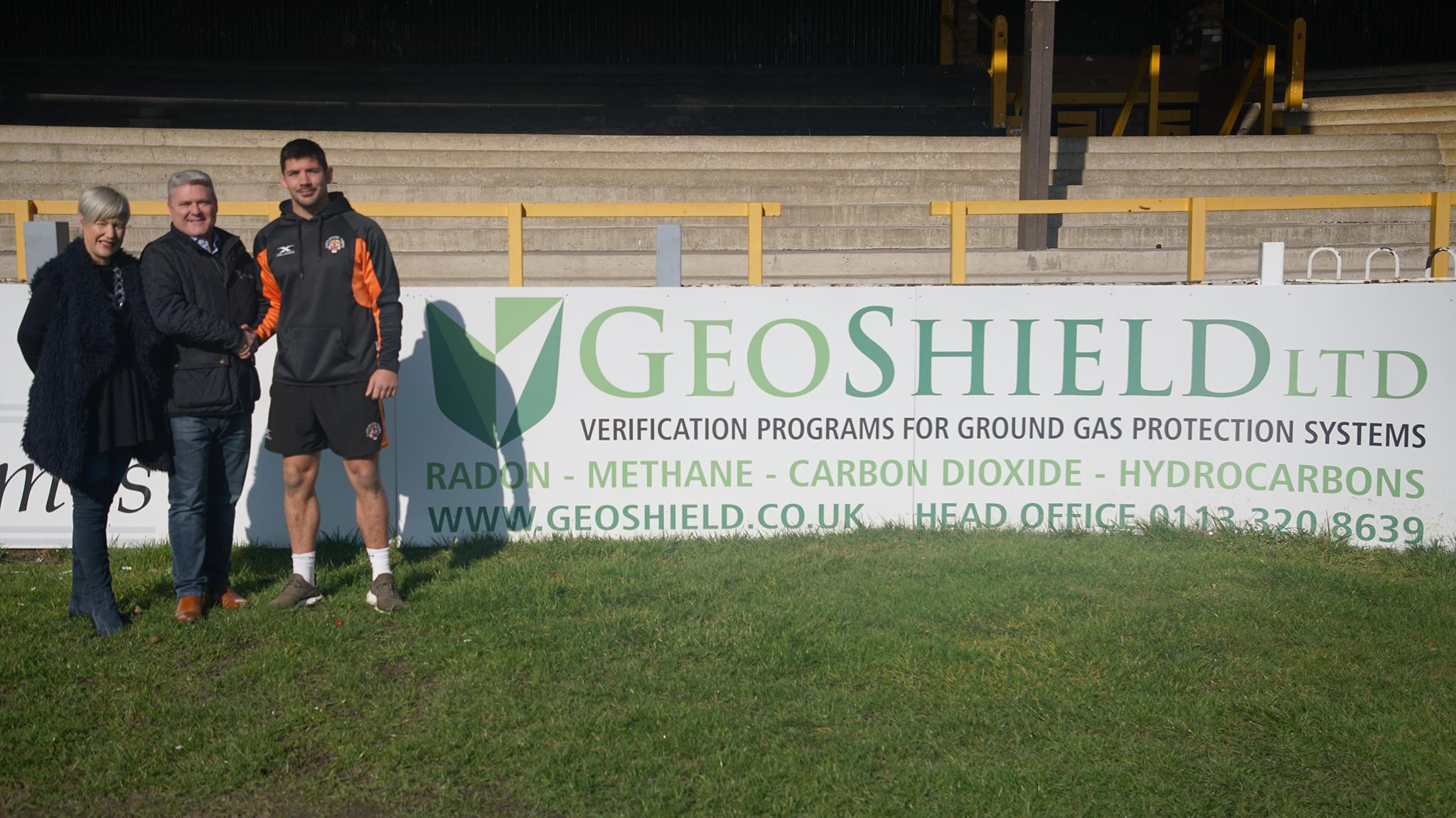 GeoShield sponsor Castleford Tigers New Squad player Chris Clarkson
