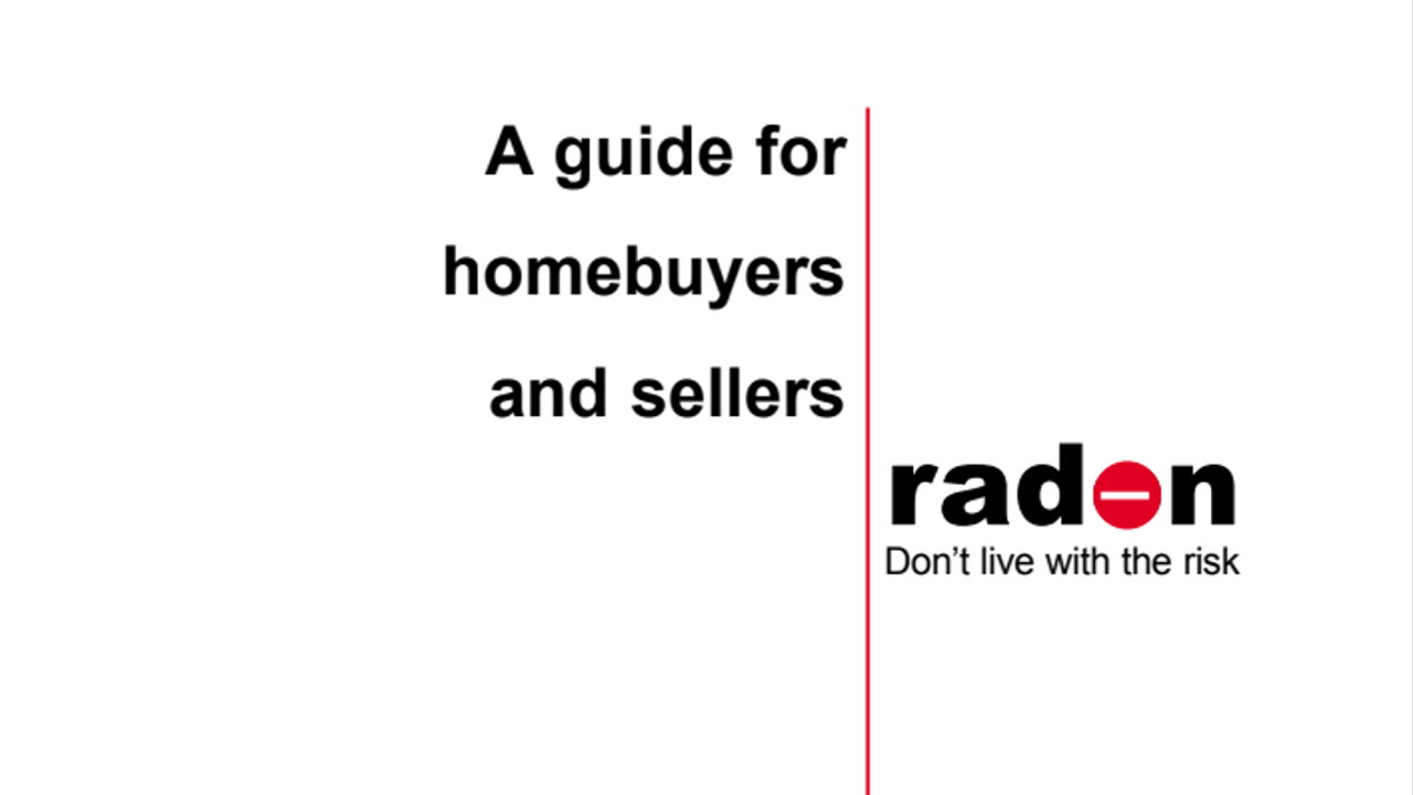 Radon A Guide For Homebuyers and Sellers