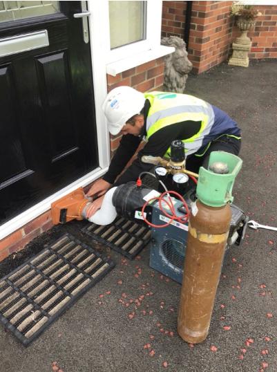 residential inert gas testing